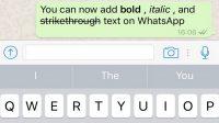 Cara Membuat Tulisan Tebal & Miring Di Chat WhatsApp
