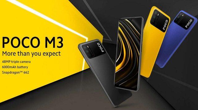 Spesifikasi dan Harga Xiaomi Poco M3 di Indonesia